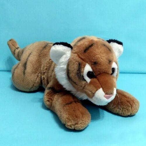 "Animal Alley Bengal Tiger Plush Stuffed Animal Toy Vintage 2000 14"" Toys R Us"