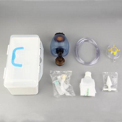 Manual Simple Resuscitator Pvc Kid Ambu Bag Oxygen Tube First Aid Kit Dv