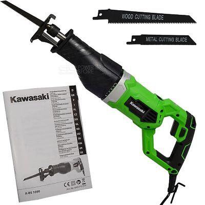 Kawasaki Säbelsäge K-RS 1050 Watt Tigersäge Reciprosäge Fuchsschwanz Sägeblätter