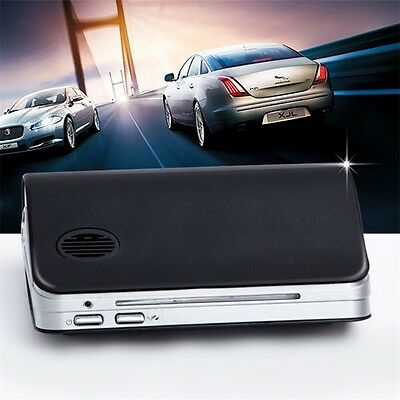 Classic Black Car Air Purifier Cleaner Ionic UV HEPA Ionizer Fresh Ozone QT
