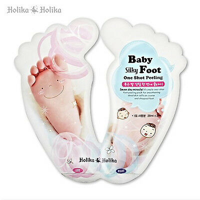 [HOLIKA HOLIKA]  Baby Silky Foot One Shot Peeling / Korea Cosmetics