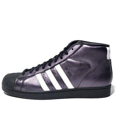 Adidas Originals Men's PROMODEL Shoes Black/White Shiny S75850 a