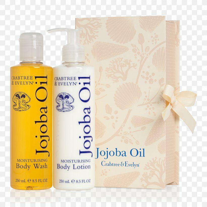 Crabtree & Evelyn Jojoba Oil Body Wash Lotion Duo 8.5 oz / 2