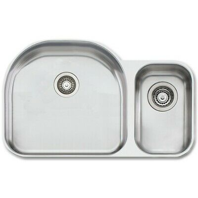 Oliveri Under-mount Stainless Steel Sink - 883u, New - Open Box