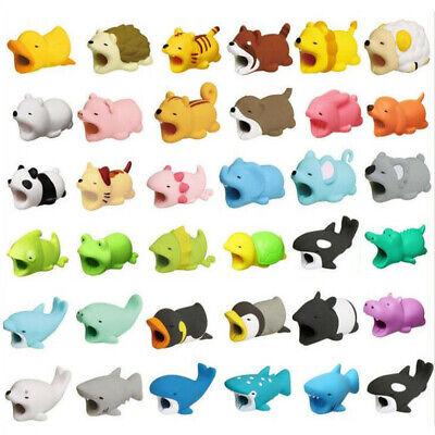 Cartoon Animal Saver Protector USB Charger Cable Data Line Wire Cord Protection (Animal Saver)