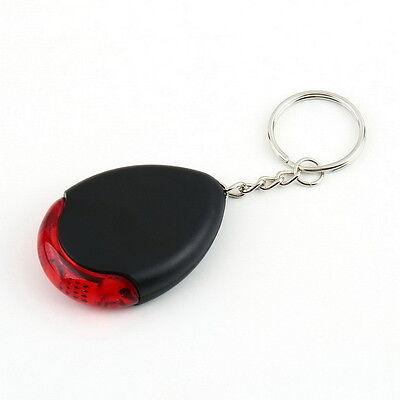 LED Light Torch Remote Sound Control Lost Key Finder Locator Keychain Keyring LE