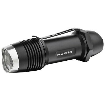 NEW LED Lenser  1000 Lumens F1R 8701-R Rechargeable Flashlight Torch in gift box
