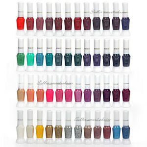 48 Color Pro Nail Polish Glitter Varnish Nail Art Design Kit Decor Brushes Pens