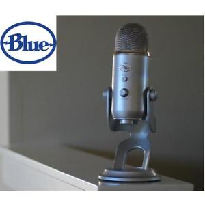 NEW BLUE YETI USB MICROPHONE YETI GRAY 134497795 SPACE GRAY MAC OS X (10.4.11 OR HIGHER)/ PC (WINDOWS 8.1, 8, 7, VIST...