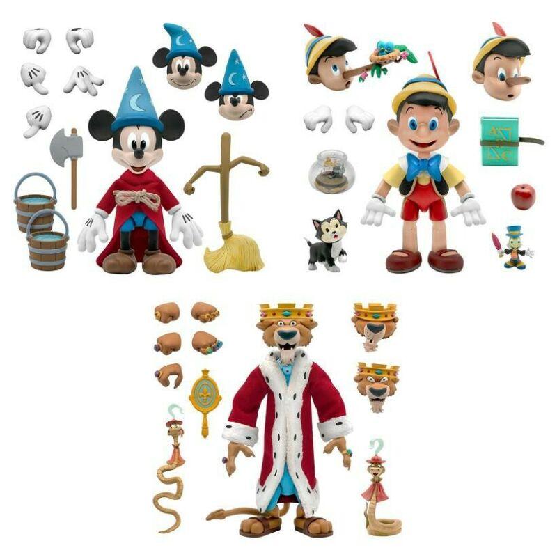 Disney Classic Animation ULTIMATES Set of 3 (Pre-Order)