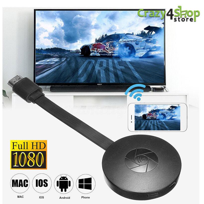 CHROMECAST VIDEO 2 HDMI STREAMING VIDEO MEDIA PLAYER