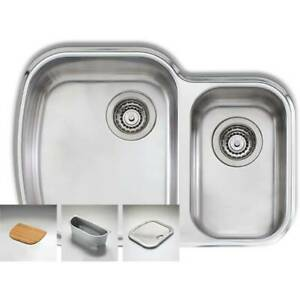 Oliveri One and a half bowl Kitchen Sink. Brand new in box