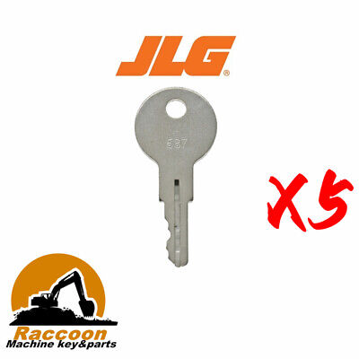 5pcs Fitsjlg 587 Key Older Models- 30ha And 40hae Jlg650 Terramite