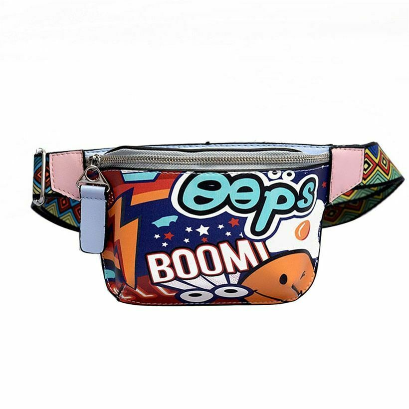 Colorful Waist Bag For Women Cute Fanny Pack Fashionable Str