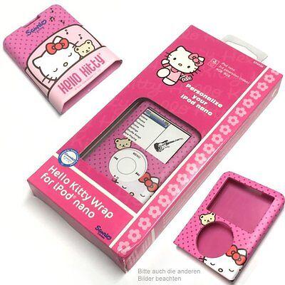 Hello Kitty iPod Nano Case/Schutzhülle/wrap pink für Apple 3G 3rd 3.Generation