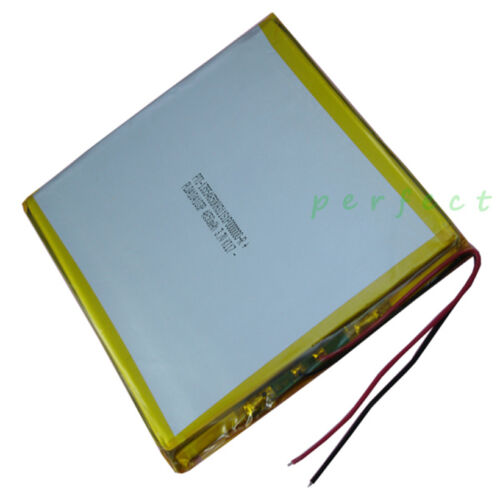 3.7V 4650 mAh Polymer rechargeable Li battery For ipod iPAQ Tablet PC 04104103