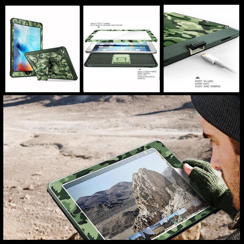 For Ipad 9 7 2018 2017 Case Supcase Ub Pro Camo Full Cover W Screen Protector Ebay