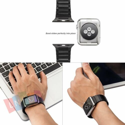 Stainless Steel Bracelet Strap Band Link For Apple Watch iWatch Series 38mm/42mm