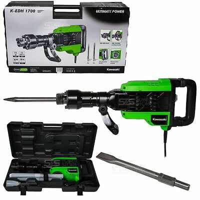 Kawasaki Abbruchhammer K-EDH 1700 Watt Bohrhammer 50 J Stemmhammer Meißelhammer