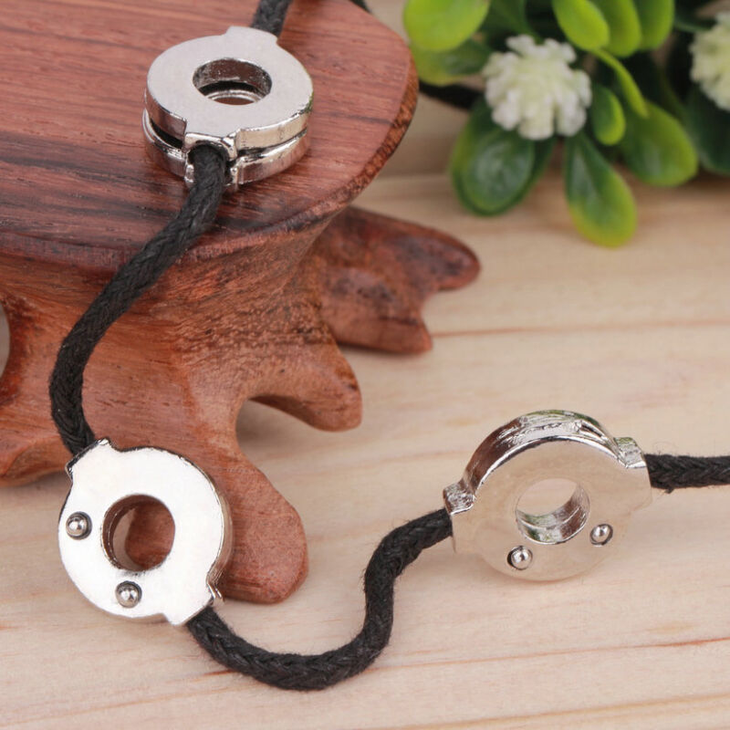 Anime Naruto Akatsuki Uchiha Titanium Steel Itachi Cosplay 3 Loops Necklace EC
