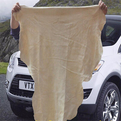 Shammy Genuine Leather Drying Cleaning Towel Absorbent Car Washing Sponge Cloth