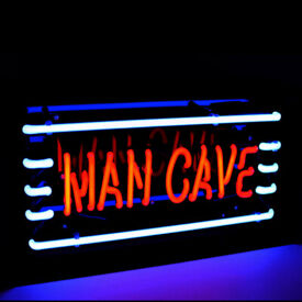 GENUINE GLASS-TUBE SHED PUB & HOME BAR NEON SIGNS (NOT LED) - MAN CAVE, WOMANCAVE, DECKING BAR