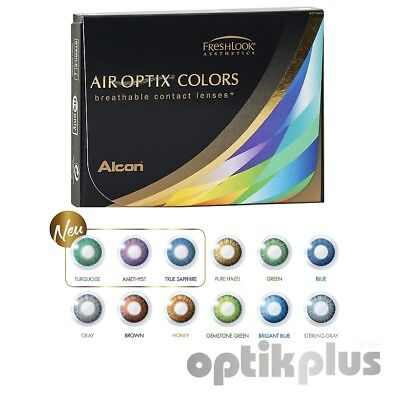 Air Optix Colors - Farbige Monatslinse - 2er-Pack ( 0,00 bis -4,00 Dpt. )
