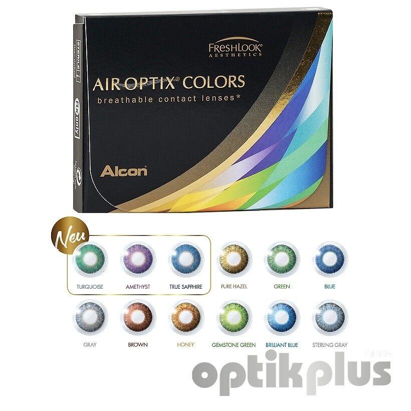 air optix color - Farbige Monatslinse - 2er-Pack ( nur Stärke 0,00 )