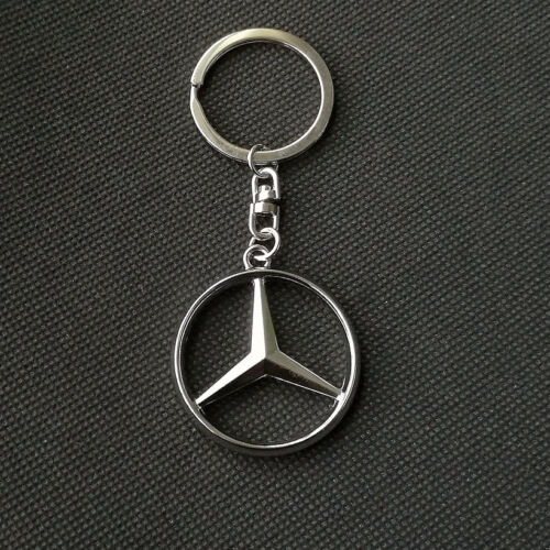 Metal Car logo Auto Part Accessories Car Keychain Key Ring For Mercedes Benz