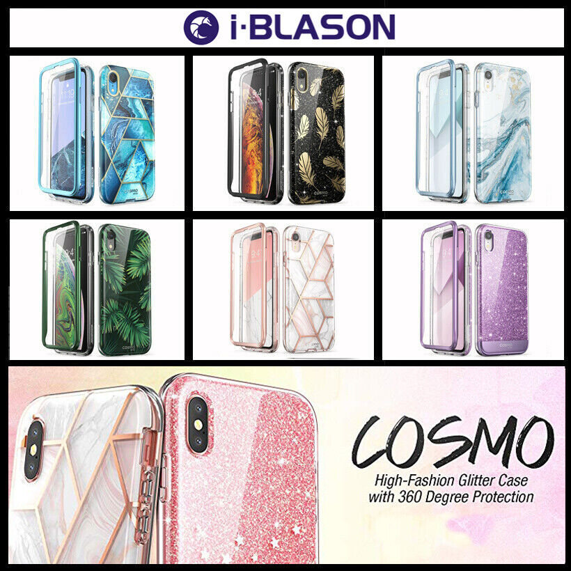 For IPhone Xs/X/XR/Xs Max/8 Plus/7 Plus/8/7 Case, I-Blason Cosmo Glitter Cover - $9.99