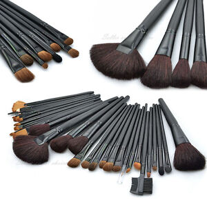 32pcs-Pro-Cosmetic-MakeUp-Powder-Brushes-Set-Eyeshadow-Tool-Pouch-Bag-AU-STOCK