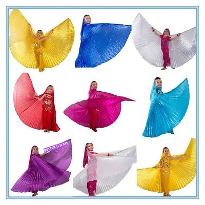 NEW Sale Girl Kids Angel Wings Belly Dance Costume Children's Isis Wings & Bags - Angels Costume Sale