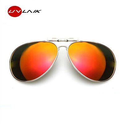 Sonnenbrillen Clip Brillenaufsatz für Brillenträger Sonnenbrille Clip On Metall