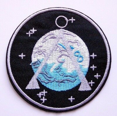 """Stargate SG-1 TV Series Patch Project Earth Uniform Command Logo Iron-On 3.5"""""""