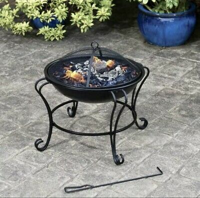 AL FRESCO BOSTON FIRE PIT Log Burner Wood Burner Chiminea Outdoor Patio Heater