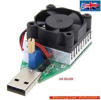15w 3.7-13v Electronic Load Resistor Usb Discharge Battery Tester With Fan H36 - unbranded/generic - ebay.co.uk