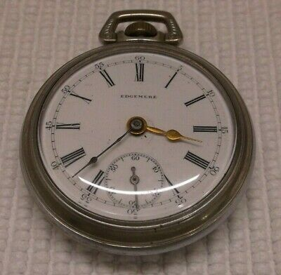 ANTIQUE EDGEMERE POCKET WATCH