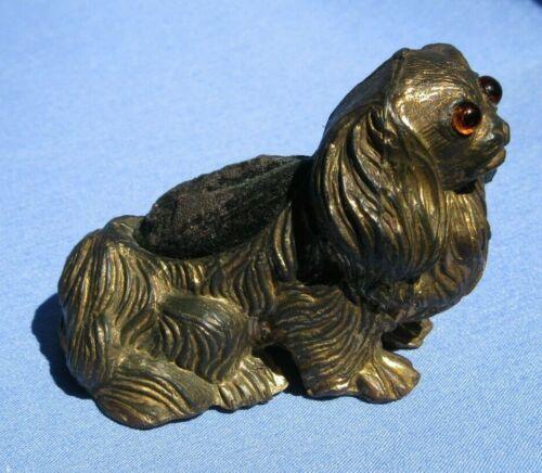 CAVALIER KING CHARLES SPANIEL VICTORIAN PIN CUSHION DOG