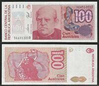 Argentina - 100 Australes Nd (1985-90) Unc Pick 327c Serie D -  - ebay.it