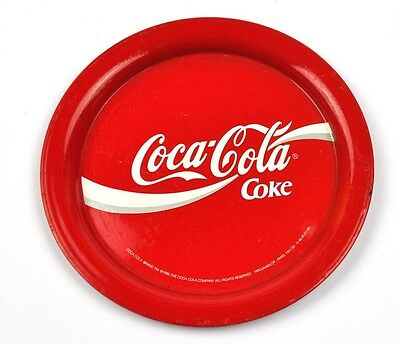 Coca-Cola Coke USA Metall Untersetzer Coaster Ø 12 cm rot