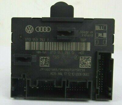 NEW genuine Audi A5 8T A4 8B Door Control Unit Front Left 8T0959793J Original