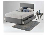 ⭐🆕SEASONAL SALE DIVAN BED BASES IN SINGLE, SMALL/DOUBLE, KING SIZE AND MATTRESS OPTIONS