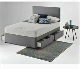 ⭐🆕DAILY DEALS LUXURY DIVAN BED BASES AND MATTRESSE, MEMORY FOAM, ORTHOPAEDIC, POCKET SPRING