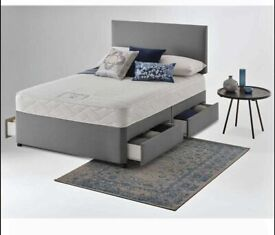 ⭐🆕ULTIMATE SALE OF LUXURY DIVAN BED BASES IN ALL SIZES & COLORS READY GRAB ONE TILL STOCK LAST