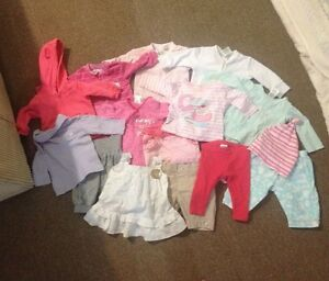 Bulk lot baby girl clothes 000 Warragul Baw Baw Area Preview