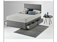 ⭐🆕FACTORY SALE DIVAN BEDS IN ALL SIZES WITH STORAGE OPTION HEADBOARDS AND CHOICE OF MATTRESS
