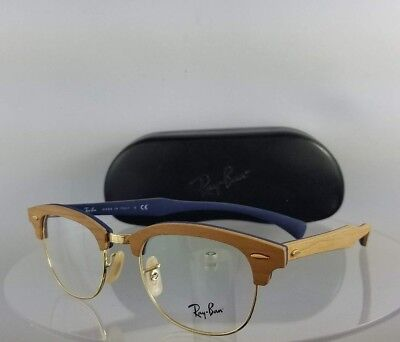 Brand New Authentic Ray Ban RB 5154 Eyeglasses RB 5154-M 5559 Wood Frame