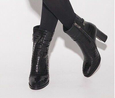 Women 2017 New Fashion Leather Boots Ankle Boots Sexy High Heels Autumn ITC510.