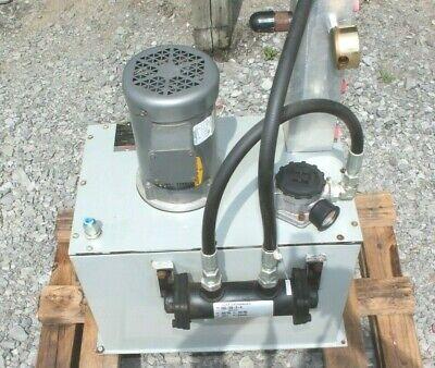 Rexroth 15 Gallon 34 Hp Hydraulic Power Unit R978931850 Pp15g201175bm6h1