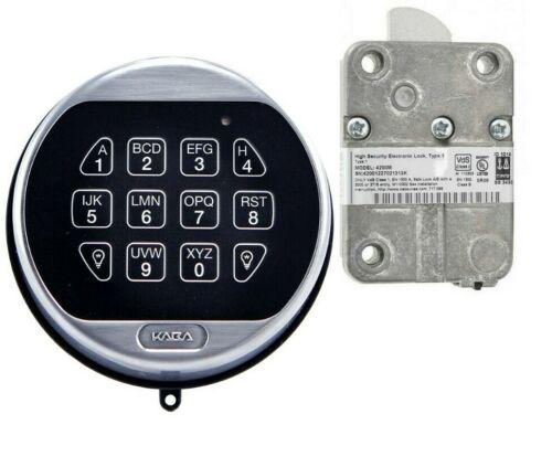 LA LAGARD BASIC II 5715SC 5715 Keypad and 4200M Lock KIT Satin Chrome NEW